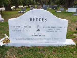 Rhodes White Marble Memorial